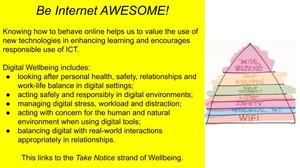 Wellbeing be internet awesome