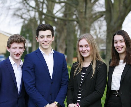 2019 head boy girl photo